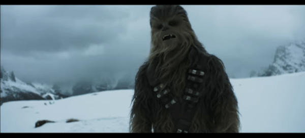 STAR WARS' CHEWBACCA CHALLENGES FANS TO 'ROAR FOR CHANGE'
