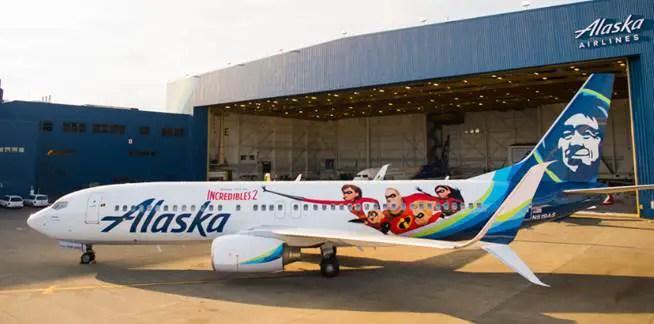 Incredibles Alaska Air