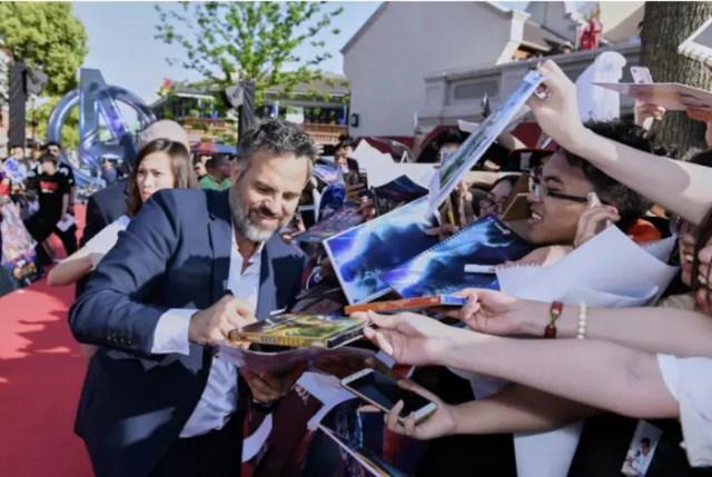 Avengers: Infinity War Stars Make An Appearance at Shanghai Disney 7