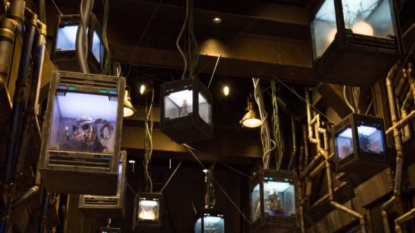 Take a closer look at the Collectors Fortress at Guardians of the Galaxy-Mission: Breakout!