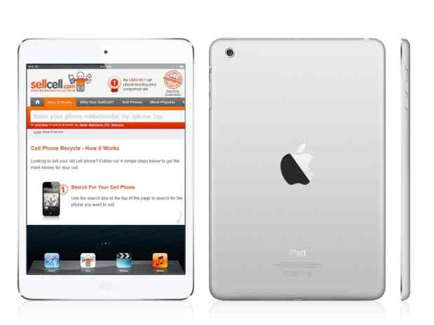 iPad Mini - SellCell.com giveaway