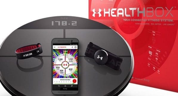 HTC And Under Armour's UA Healthbox Packs In Three Big Fitness Products