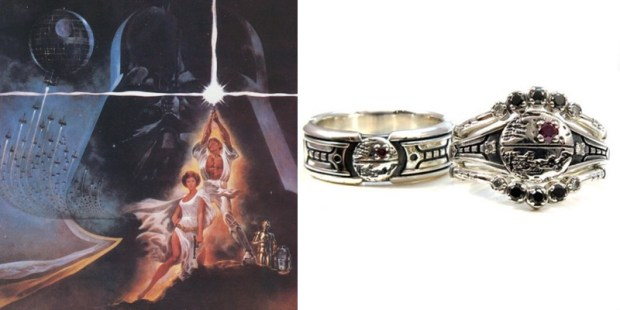 27 Geeky Engagement Rings To Honor And Cherish The Nerd Of Your