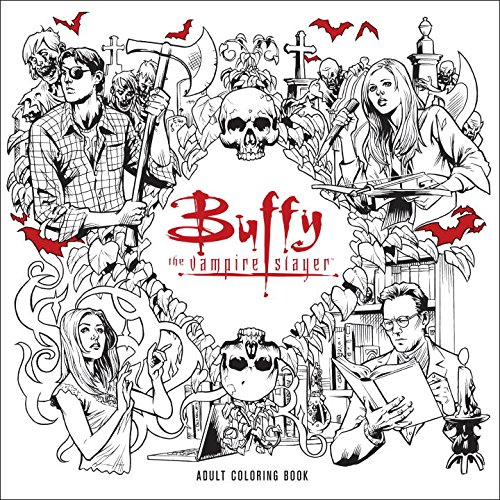 Buffy The Vampire Slayer Is Getting An Adult Coloring Book