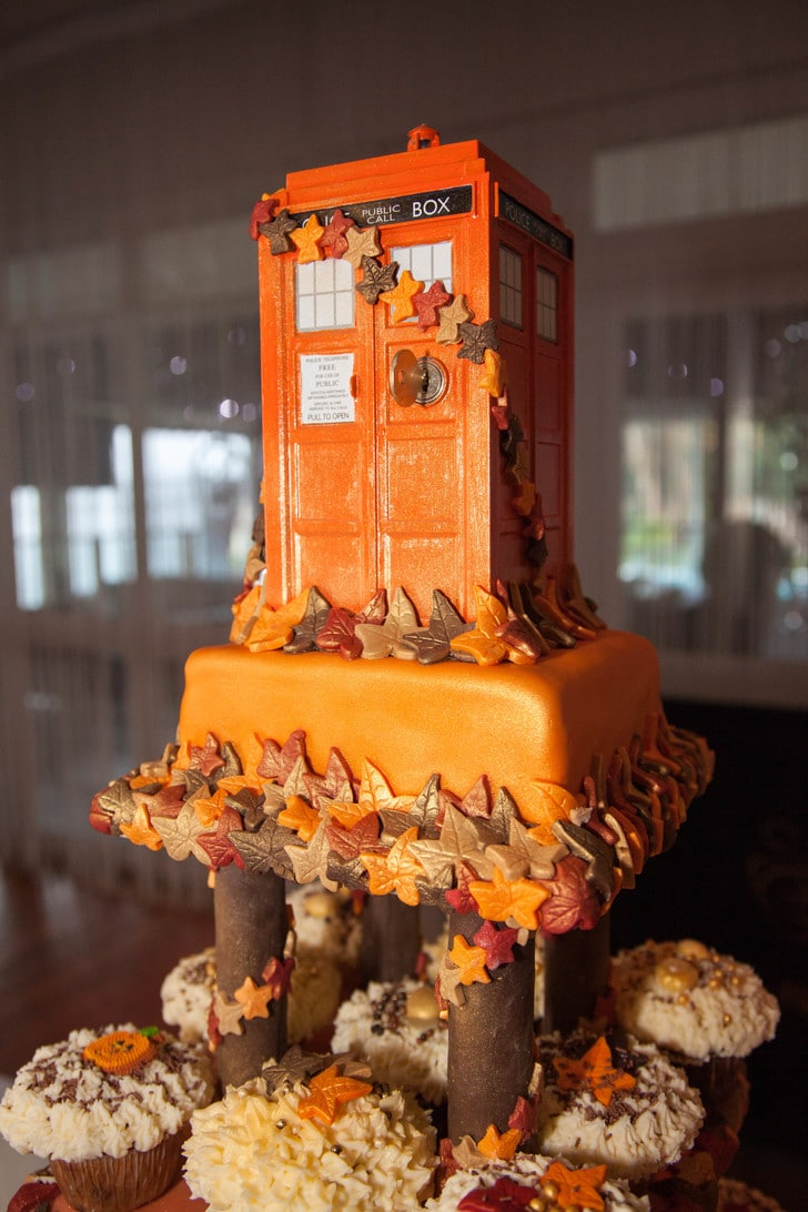 24 More Gorgeous Yet Geeky Wedding Cakes For Your Special