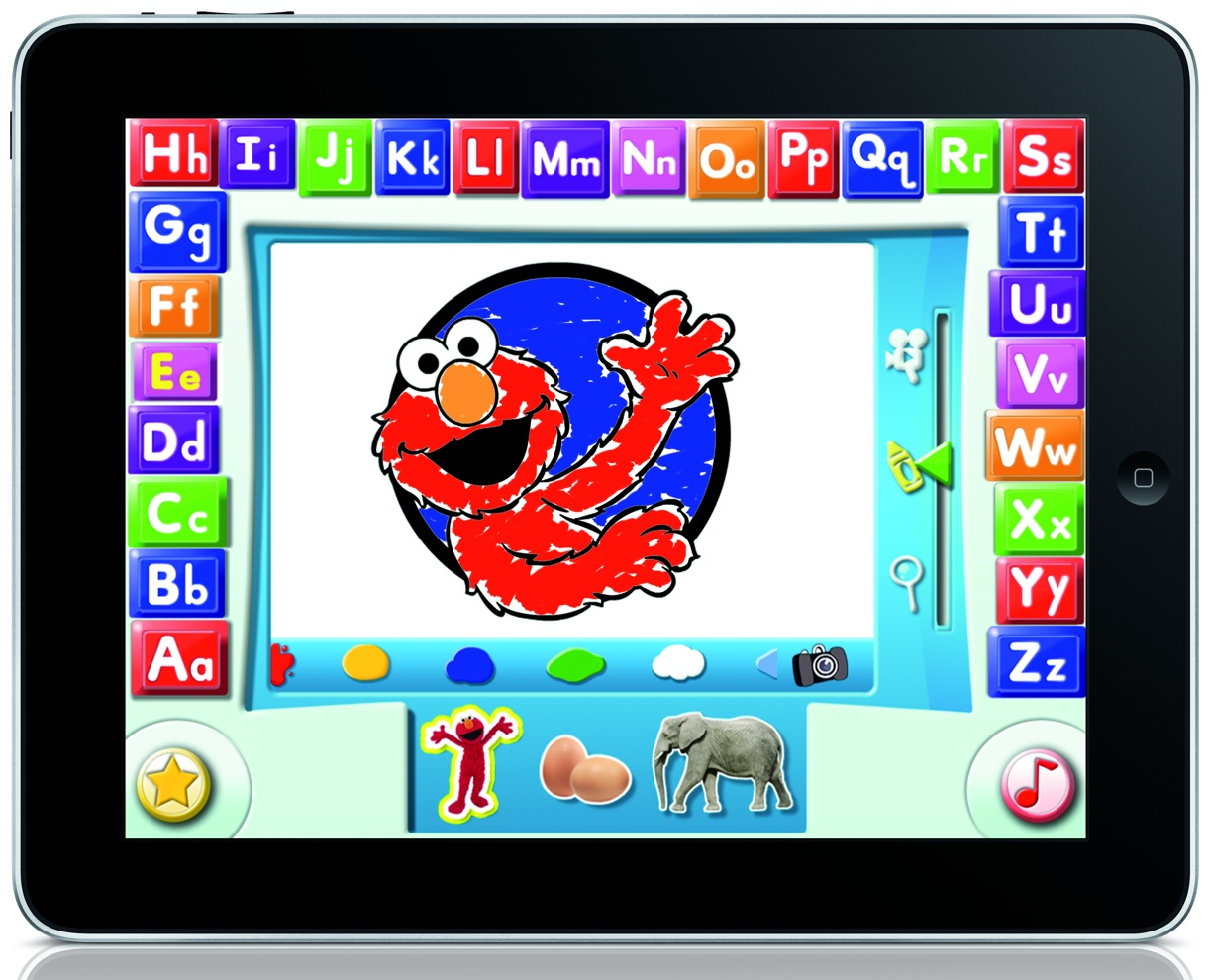 Elmo loves abcs ipad app teaches kids about alphabet, coloring pages i love you mom