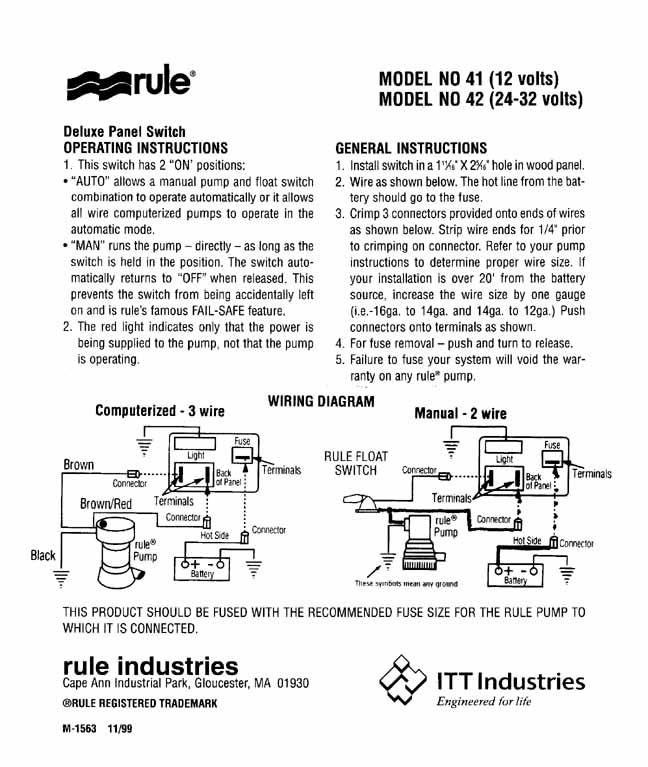 rule bilge wiring diagram dc submersible bilge free printable wiring diagrams