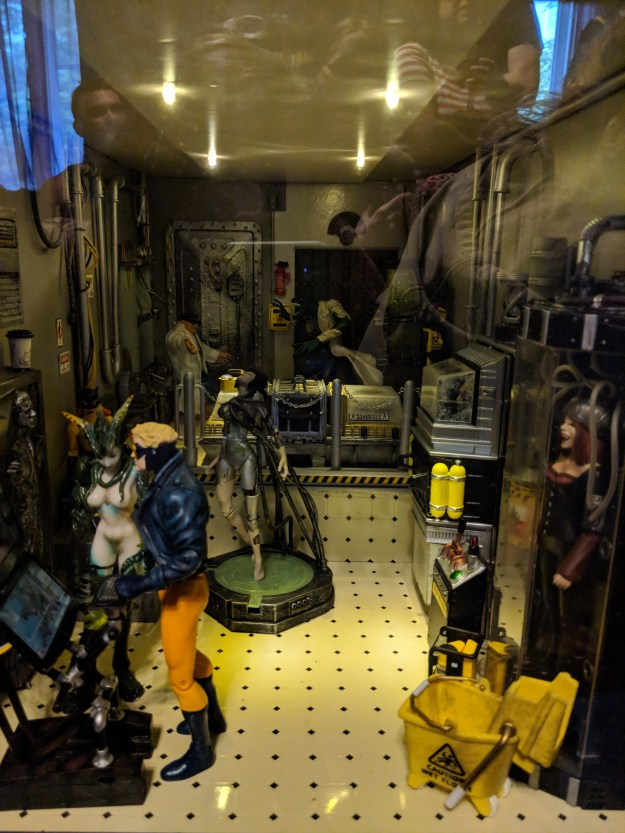 Dollhouse Underground Superpowers Laboratory Tube Room by Suzanne Forbes by Daria Rein
