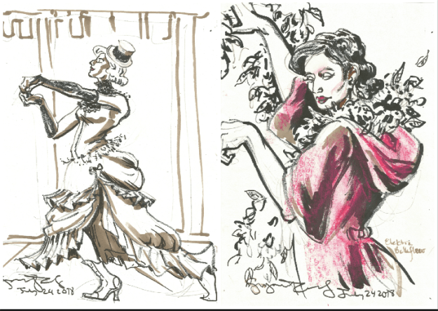 Dancers at Extravagent Shambles by Suzanne Forbes July 24 2018