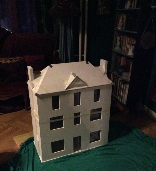 Primed dry build Gables Dollhouse