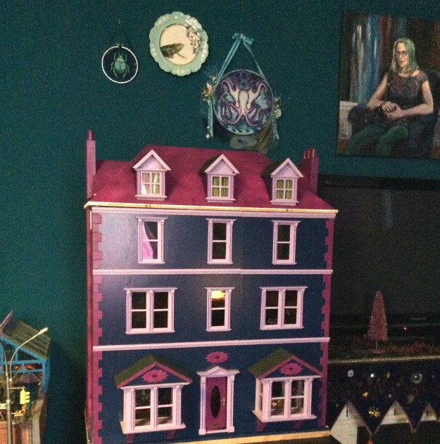 Work in process X Men dollhouse by Suzanne Forbes Feb 26 2019