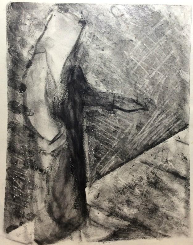 Self Portrait panhandling 1989 by Rachel Ketchum aka Suzanne Forbes Fall 1991