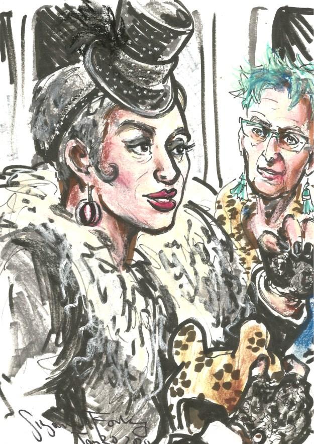 Unterwegs with Stella Ahangi and Brigitta Kuesgen Jan 20 2020 by Suzanne Forbes