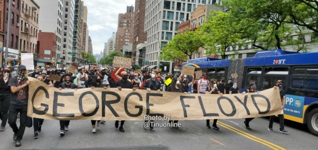 NYC protest by Tinu June 2020