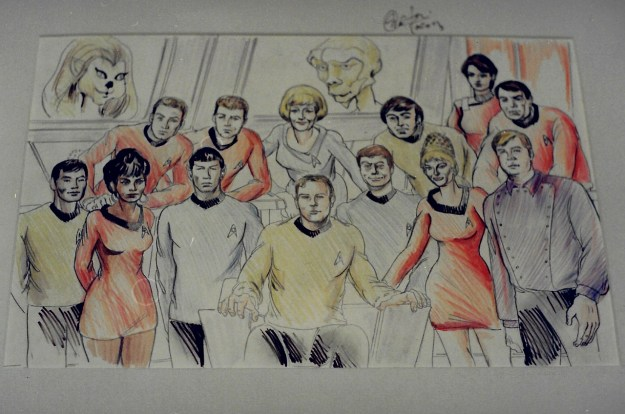 Star Trek the Original Series art commission by Suzanne Forbes aka Rachel Forbes Fall 1995