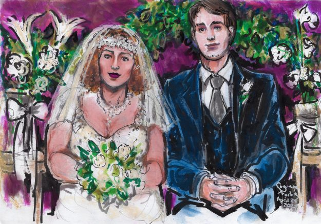 Shakrah and Leander zoom wedding reception by Suzanne Forbes April 24 2021