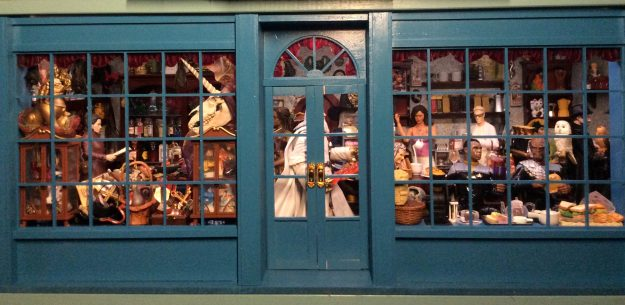 Cafe Morgana Dollhouse Miniature Magic Shoppe and Coffee Roastery by Suzanne Forbes May 2021
