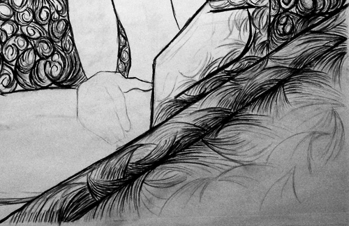 Mexican Angel Study Detail