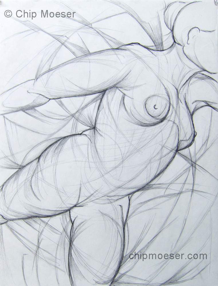 Study for 'Moving Through the Motions'