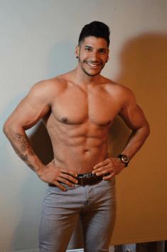 strip-tease a domicile avec Gabriel