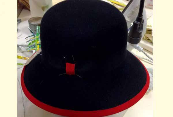 atelier création de chapeau