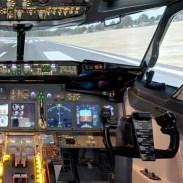 simulateur de vol pour enterrement de vie de jeune fille