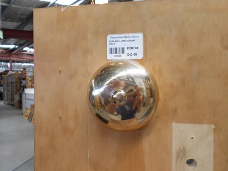 vintage door bell bells turn mechanisim mecanical hardware victorian federation