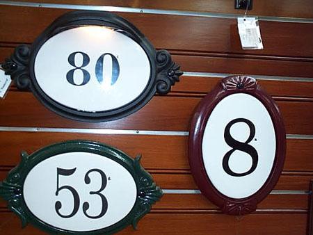 Ceramic Numbers