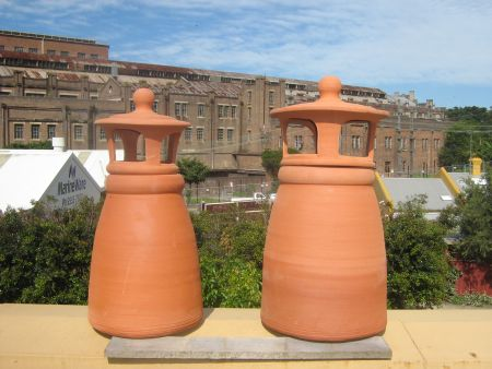 Chimney Pots 2 Piece
