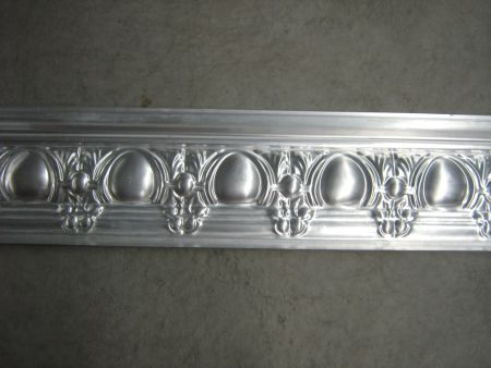 Egg and Grape Tin Cornice