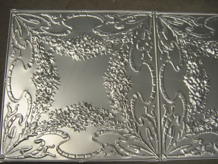 pressed tin panels aluminium reproduction flannel flower