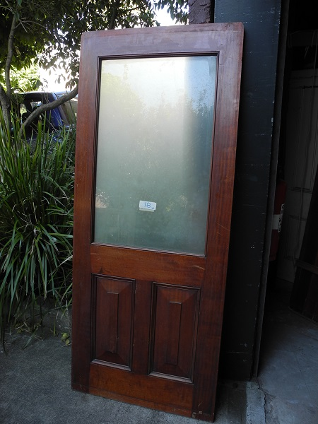 original second hand queensland maple internal with glass panels
