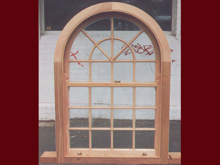 past joinery job arched doublehung colonial window