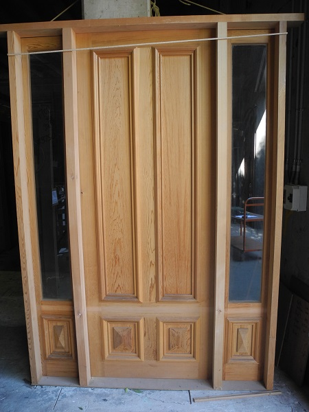 new front door in a frame joinery entranceway