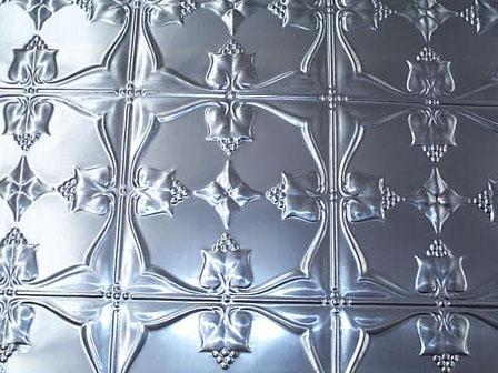 pressed tin panels aluminium reproduction tulip