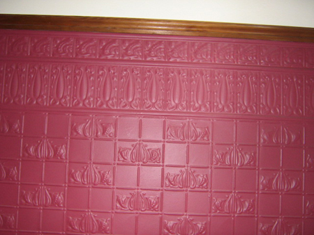 pressed tin panels aluminium reproduction wall panel
