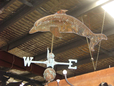 reproduction copper weather vane