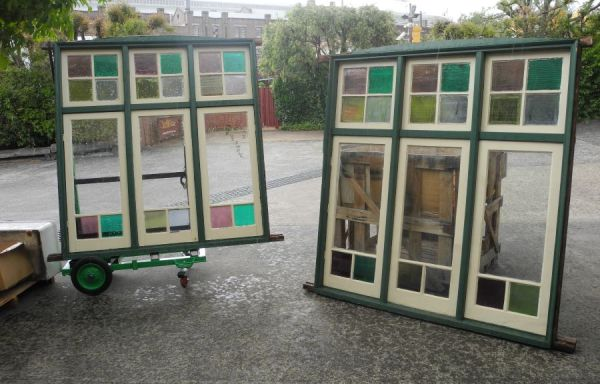 Pair triple casements windows 001