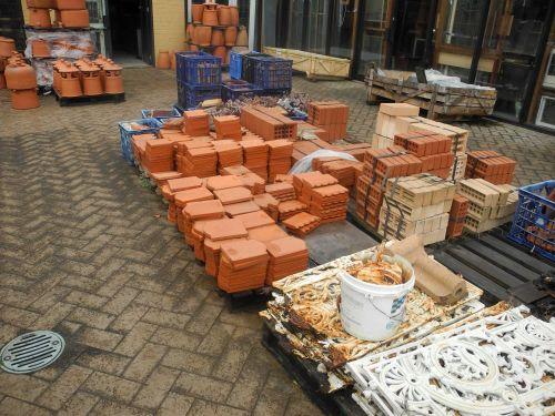 new secondhand original sydney terracotta brick vents garden edge edging tiles salt glazed original new