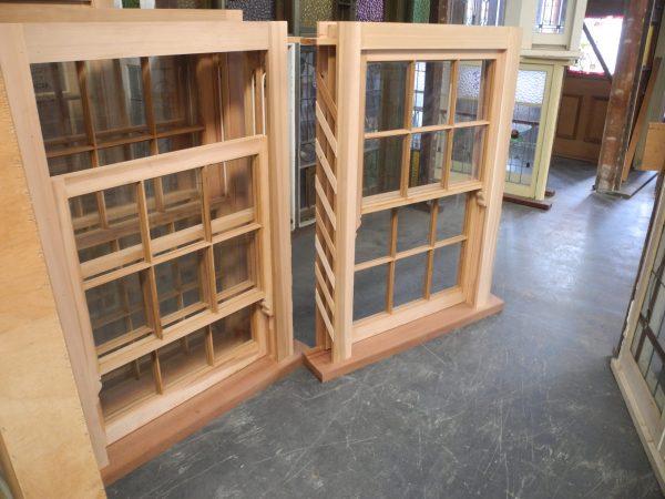 New double hung multi lite window