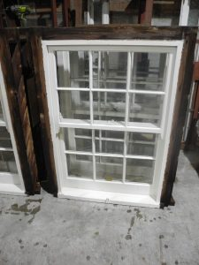 original second hand set of 15 colonial windows