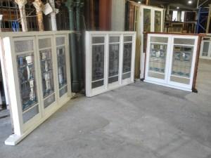 original second hand casement lead light windows