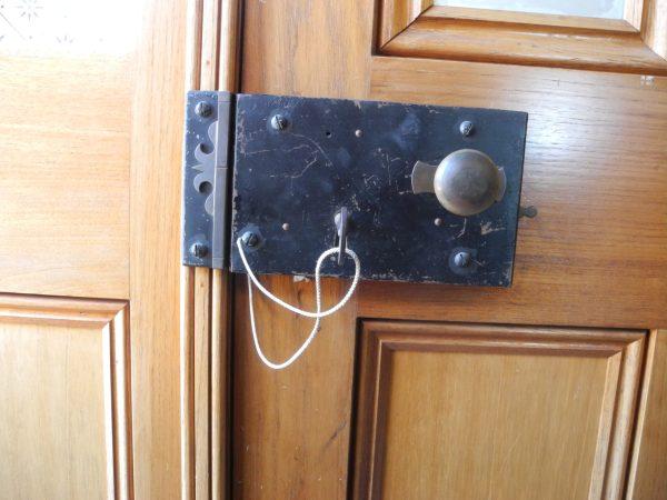 Victorian Drawback Locks