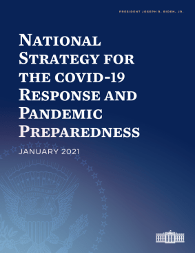 Document Cover of National Strategy for the COVID-19 Response and Pandemic Preparedness