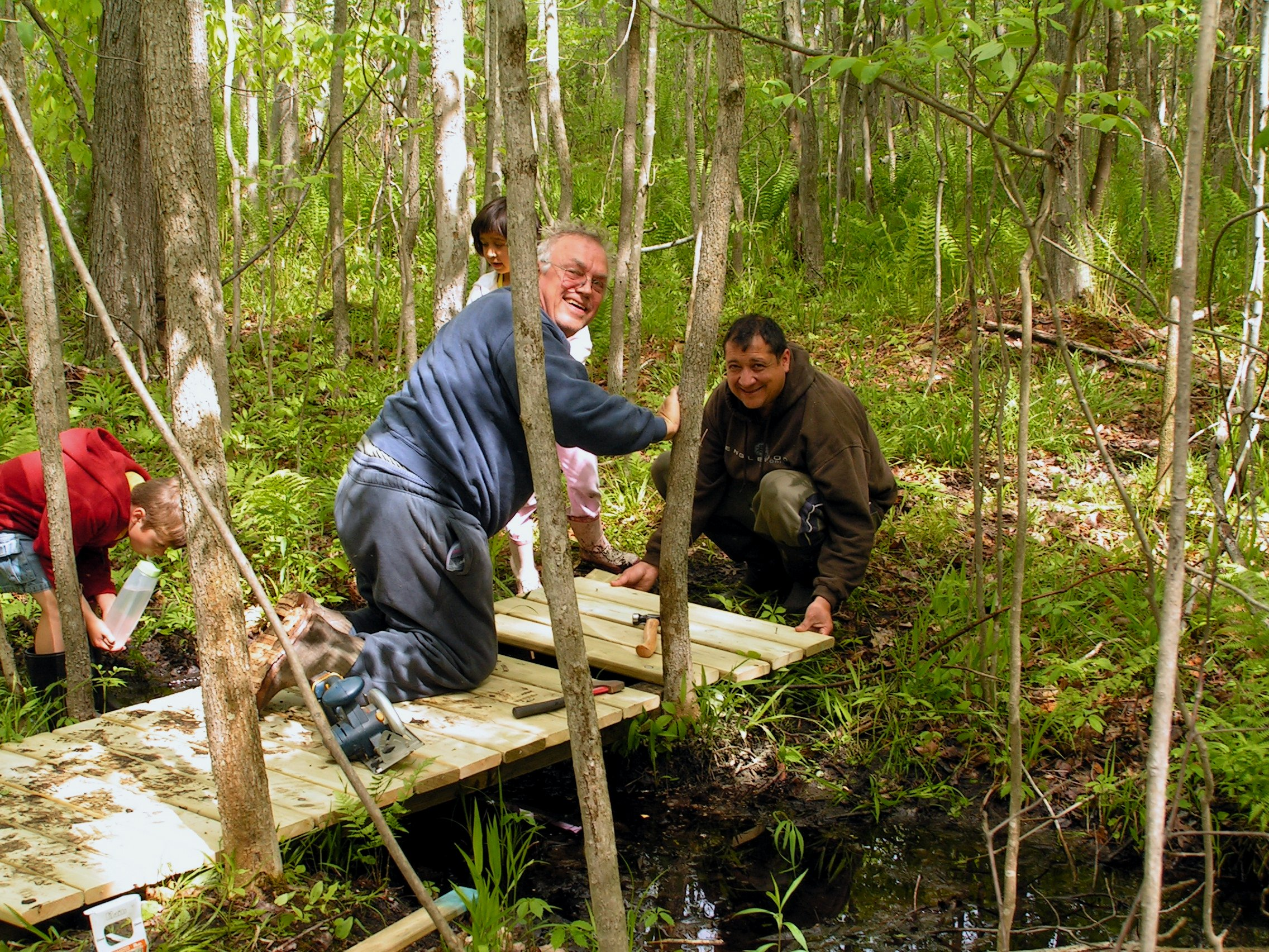 CWC_Neely Preserve Trail Building_Isabella County