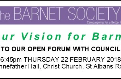 What is your vision for Barnet?
