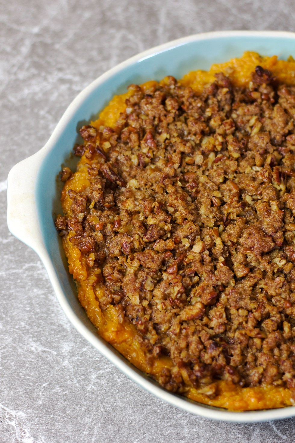 Old-Fashioned Sweet Potato Casserole - Chipsandpepper.com