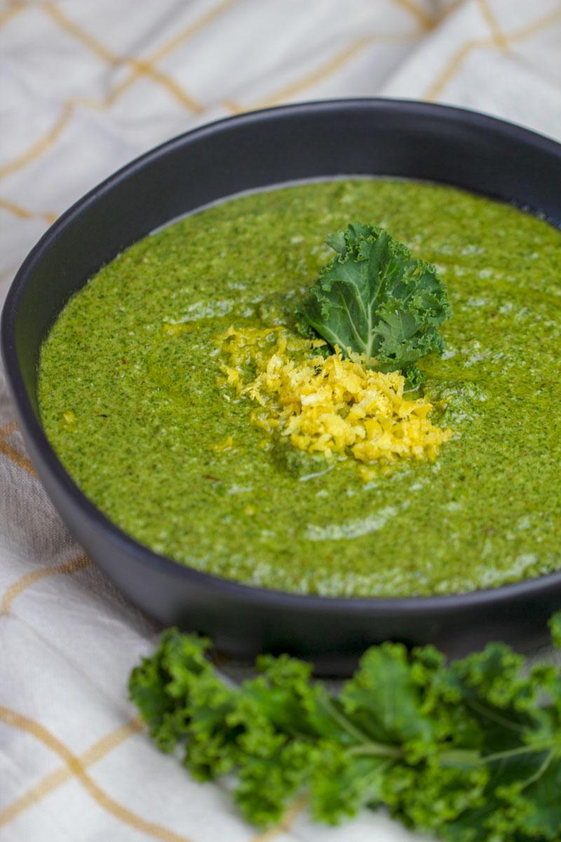Kale Toasted Pecan Pesto