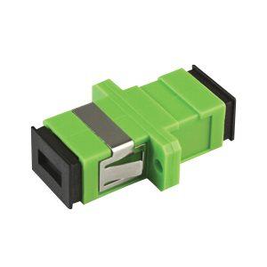 Adaptador de fibra SC/APC simplex