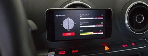 Chip tuning via smartphone control